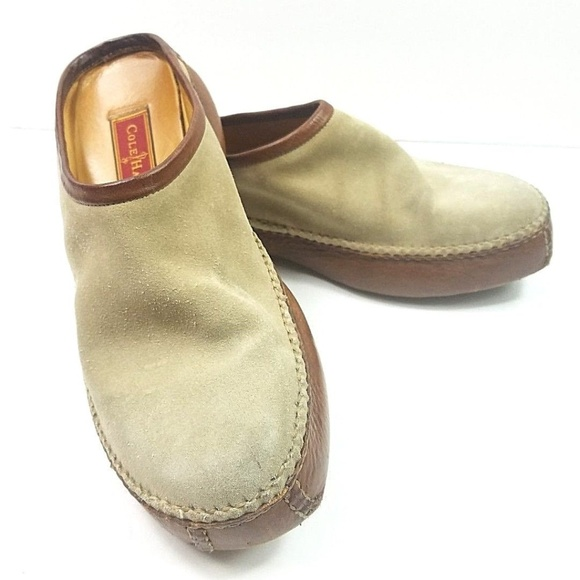 39c0f3a4432 Cole Haan Shoes - Cole Haan Country Driving Leather Loafer Mule